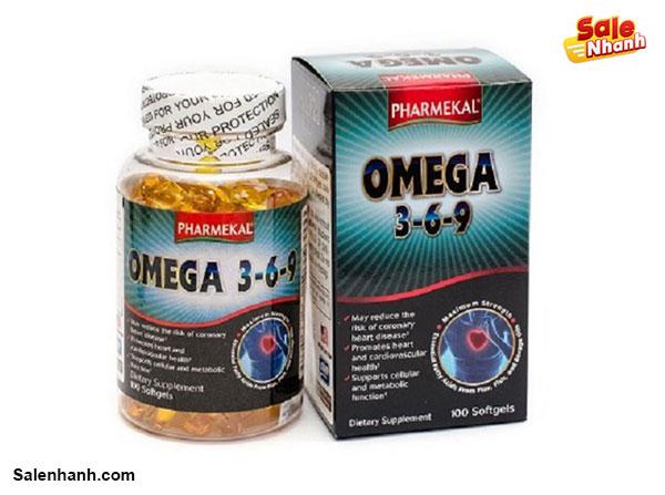 Viên uống dầu cá Omega 369