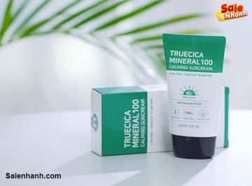 [Review] Kem chống nắng Some By Mi Truecica Mineral 100 Calming Suncream
