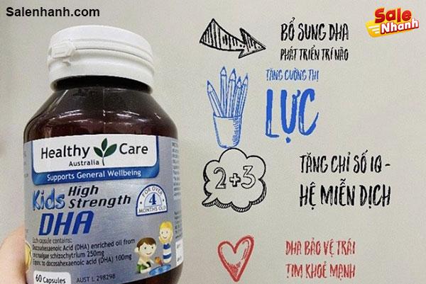 Giới thiệu sản phẩm DHA Healthy Care