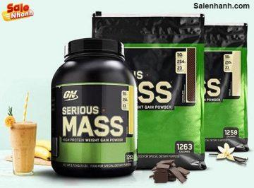 [Review] Đánh giá sữa tăng cân Serious Mass
