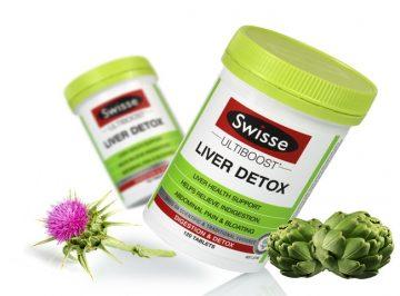 [Review] Viên uống giải độc gan Swisse Liver Detox