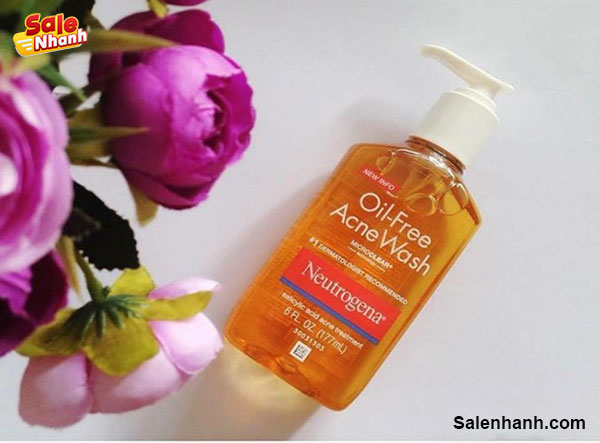 Review Neutrogena Oil Free Acne Wash
