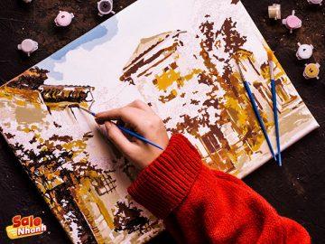 [Review] Tranh sơn dầu số hóa - Nghệ thuật đỉnh cao