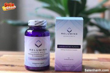[Review] viên uống trắng da Relumins Advance White