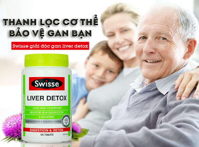Viên uống Swisse Liver Detox