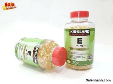 [Review] viên uống bổ sung Vitamin E Kirkland