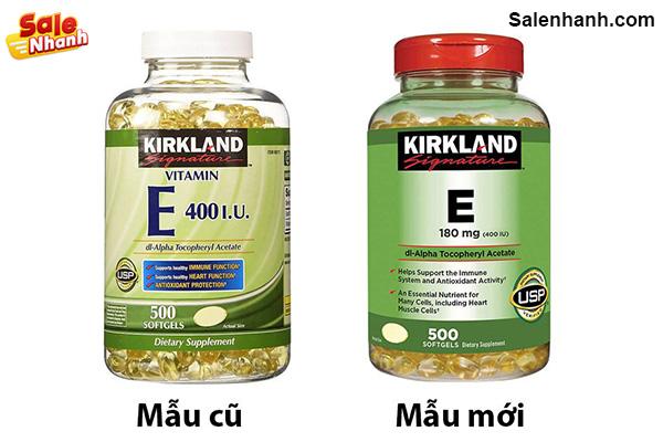 Viên uống bổ sung Vitamin E Kirkland