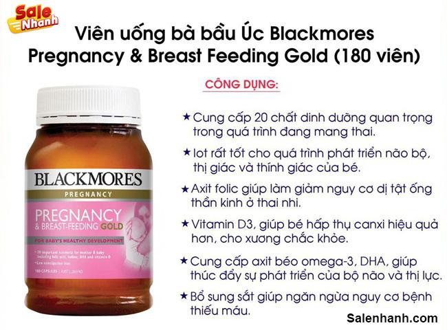 Vitamin bà bầu Blackmores
